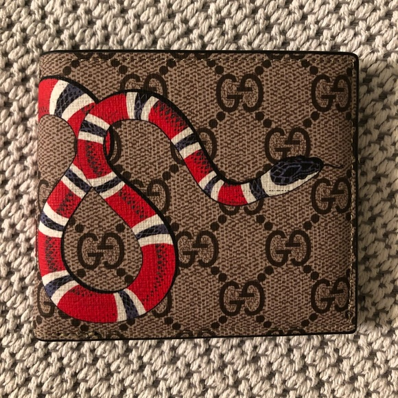 d399fc3d41e5 Gucci Bags | New Kingsnake Gg Supreme Wallet | Poshmark